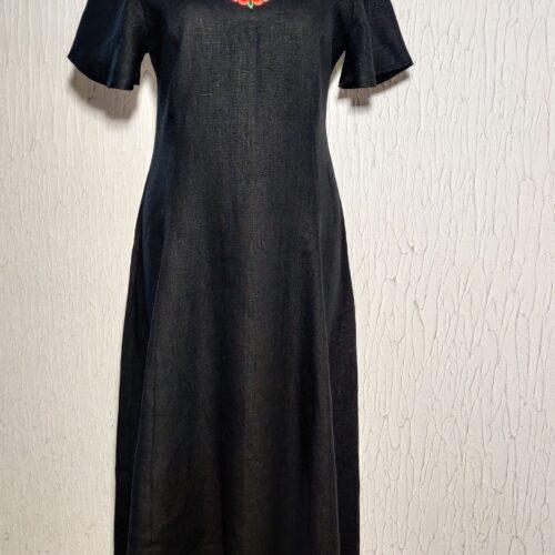 Linasest riidest kleit suurus L