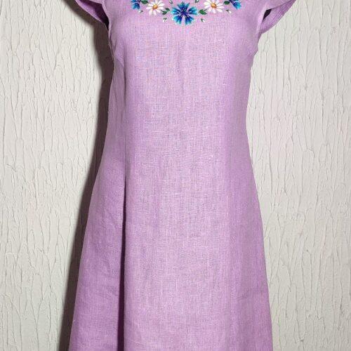 Linasest riidest kleit suurus M